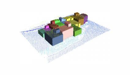 استخراج و بازسازی مدل سه بعدی ساختمان با استفاده از داده های لیدار هوابرد و تصاویر اولتراکم